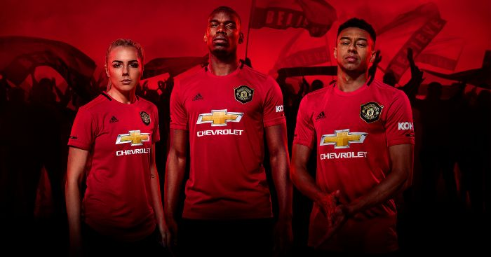 finest selection df004 c2f49 Ranking every Manchester United home shirt of the Premier ...