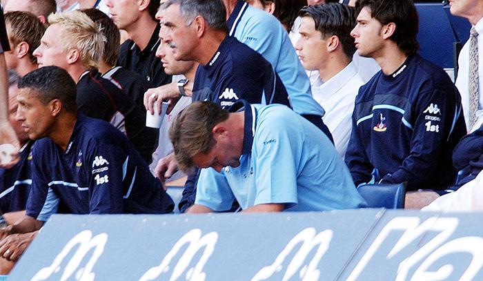 Glenn Hoddle dejected