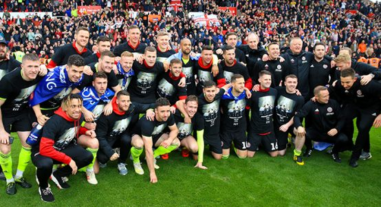 Sheffield United promoted