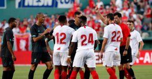Liverpool-Sevilla-red-card