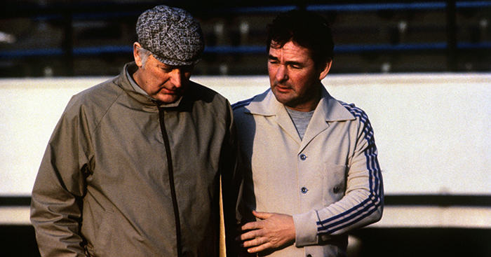 Peter Taylor with Brian Clough