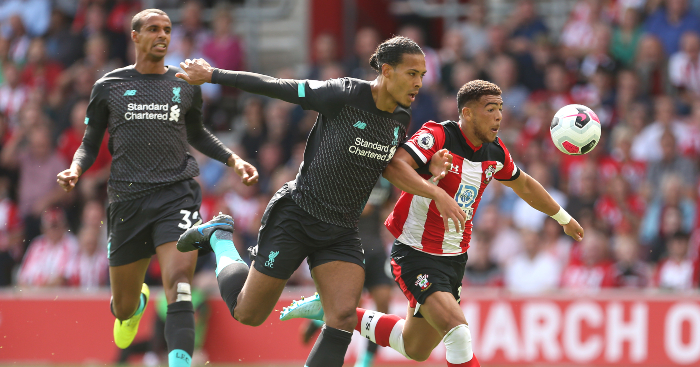 Watch Van Dijk Proves He S The Coolest Cb In World With Beautiful Touch Planet Football