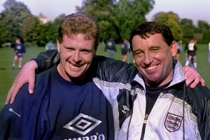Paul Gascoigne and Graham Taylor