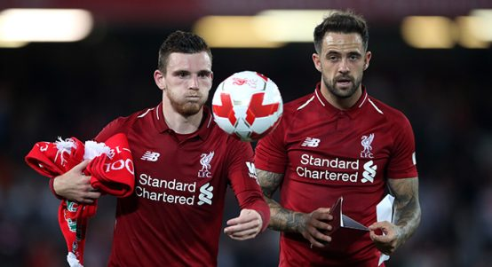 Andy Robertson and Danny Ings