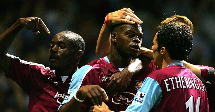 Marlon Harewood-West Ham United no 211 Merlin Premier estrellas 2005