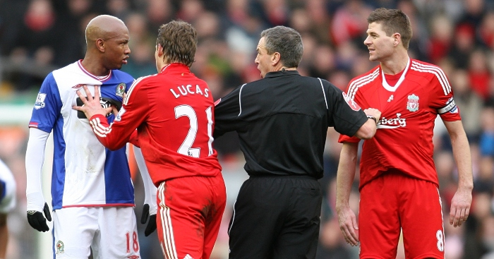 Six times El-Hadji Diouf was a pr*ck at Liverpool: Spitting ...