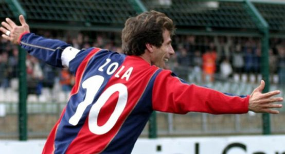Gianfranco Zola at Cagliari