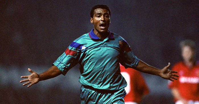 A celebration of Romario at Barcelona: Football, flights and f ...