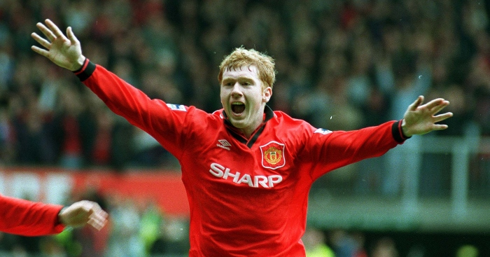 A Tribute To Young Paul Scholes He Scores Goals At Manchester United Planet Football