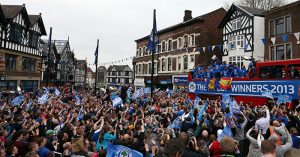 Wigan Athletic parade
