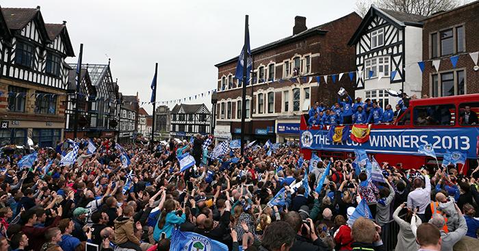 Wigan Athletic parade