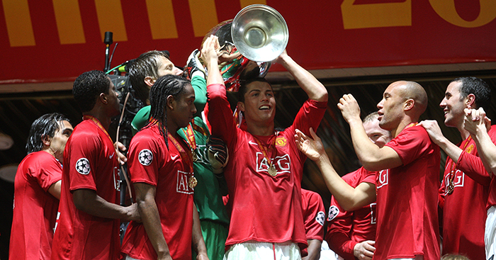 The Rise Of Ronaldo Another Great Man Utd Team The Broken Metatarsal Planet Football