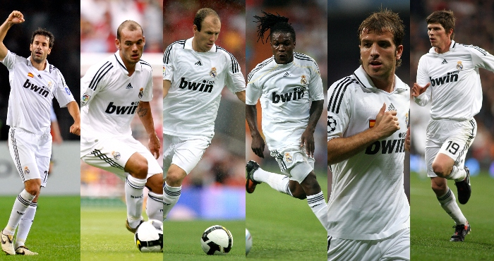 Real Madrid Dutch players