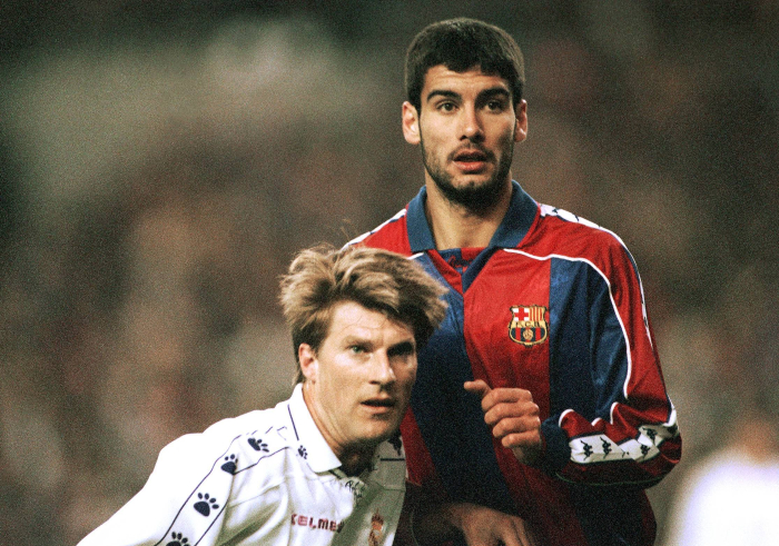 Michael Laudrup Pep Guardiola Real Madrid Barcelona Planet Football
