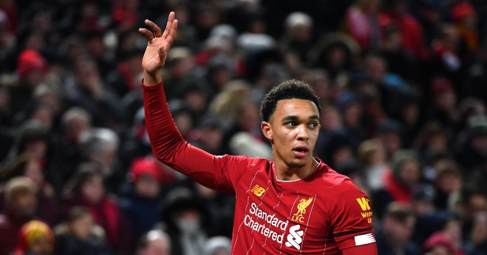 Watch: Trent Alexander-Arnold copies Virgil van Dijk with brilliant trick shot - Planet Football