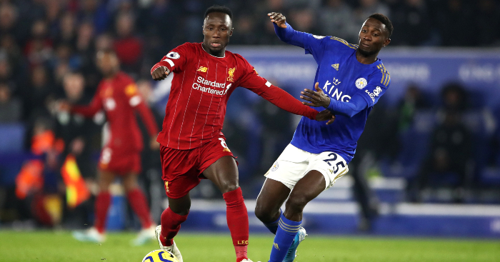 Image result for naby keita vs leicester