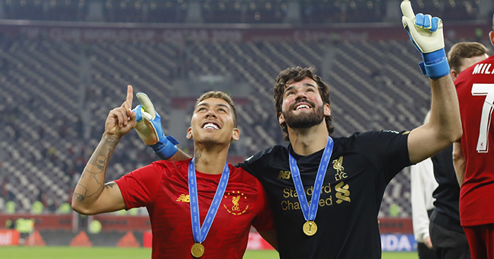 Roberto Firmino and Alisson