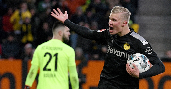 Watch Erling Haaland Scores 23 Minute Hat Trick On Borussia Dortmund Debut Planet Football