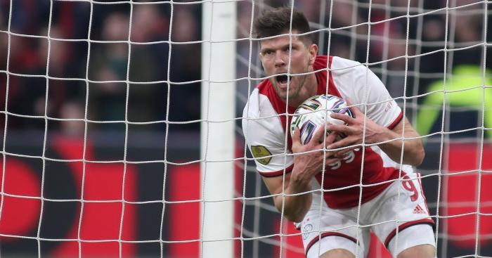 An ode to Klaas-Jan Huntelaar, the master of just scoring goal ...