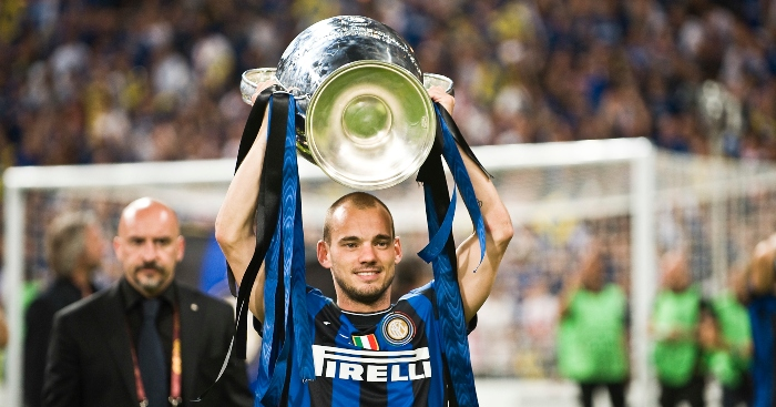 The season Wesley Sneijder made Real Madrid regret signing Kaka ...