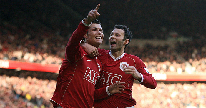 Cristiano Ronaldo and Ryan Giggs