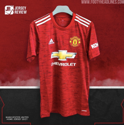 Manchester United Home Shirt 2020 21 Planet Football
