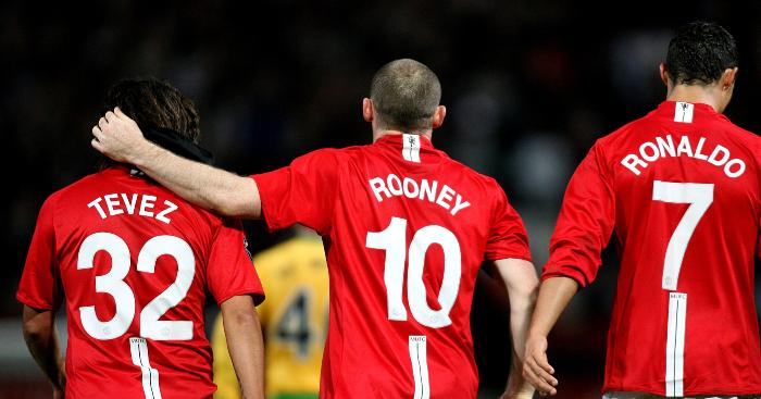The frightening stats behind Ronaldo, Rooney & Tevez's 07-08 Man ...