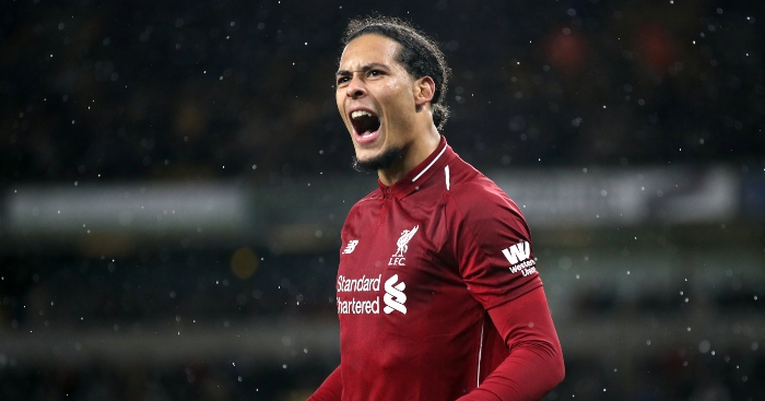 Watch Virgil Van Dijk Casually Back Heads The Ball To Himself To Stop Attack Planet Football