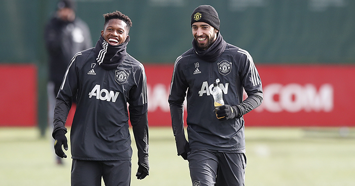 Fred and Bruno Fernandes