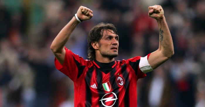 Forget about Paolo Maldini's defending and just *look* at his wondergoals -  Planet Football