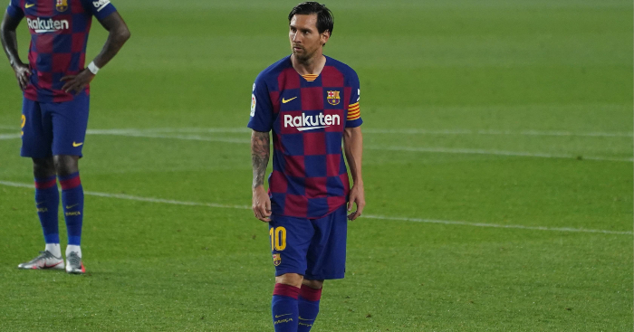 Lionel Messi has completed free-kicks, so now he's reinventing ...