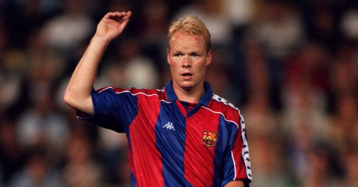 The moment Ronald Koeman perfected how to beat the press with Barcelona - Planet Football