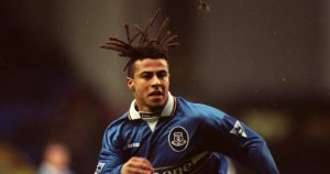 Everton's Danny Cadamarteri