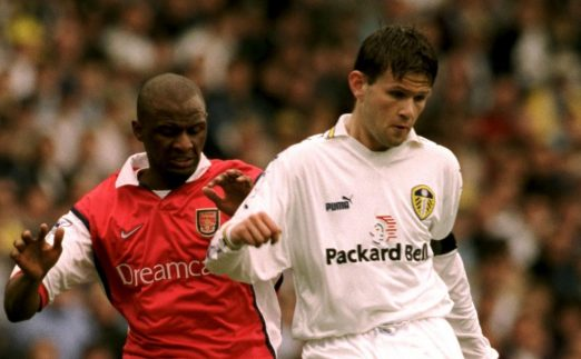 Leeds United's Eirik Bakke