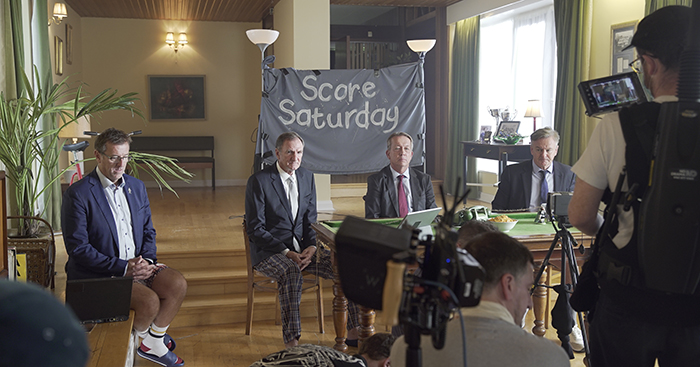 Watch: Sacked Soccer Saturday pundits reunite for hilarious sitcom