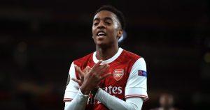 Arsenal midfielder Joe Willock