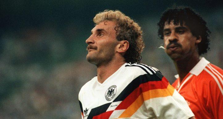 Frank Rijkaard and Rudi Voller infamous spitting incident