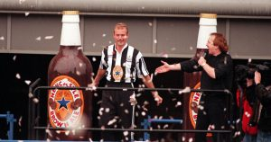 Alan Shearer unveiled at Newcastle United