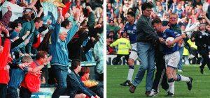 Everton celebrate survival