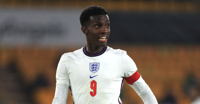 7 remarkable Eddie Nketiah stats after breaking Shearer's England U21s  record - Planet Football