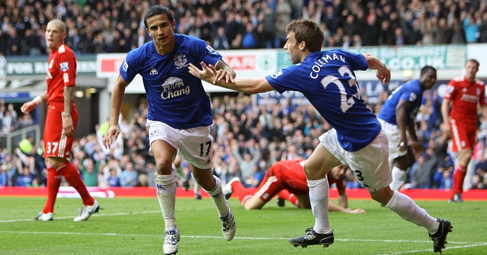 Where Are They Now Both Xis From Everton S Last Derby Win V Liverpool Planet Football