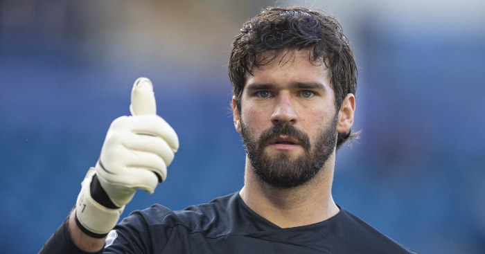 Comparing Liverpool's record with and without Alisson since 18-19 – PF
