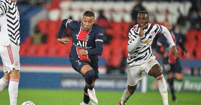 Aaron Wan-Bissaka single-handedly put Neymar & Mbappe into lockdown
