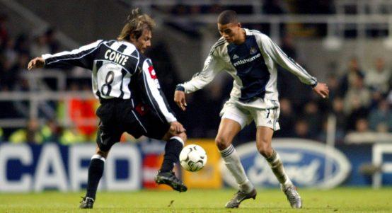 Jermain Jenas Newcastle Champions League Juventus
