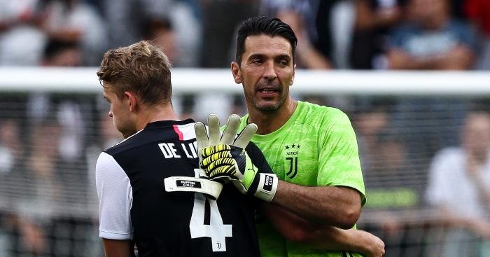A brilliant Xl of Gigi Buffon's team-mates who were born after his debut