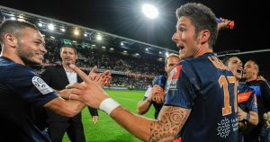 Olivier Giroud a Ligue 1 title winner with Montpellier