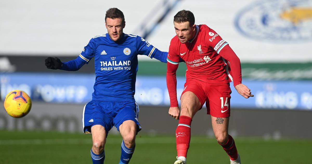 Watch: Henderson screams at Thiago for conceding free-kick thumbnail