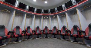 AC Milan dressing room