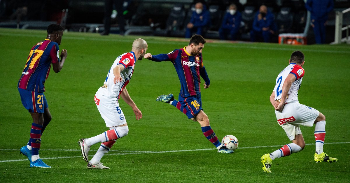 15 things we loved this wkend: Messi, Vardy, Lukaku, Sancho thumbnail