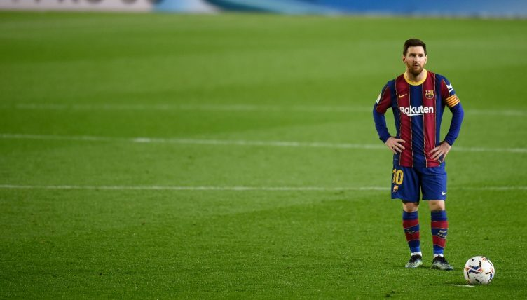 Watch: Messi asks for Elche keeper's shirt after taking the p*ss with dribble thumbnail